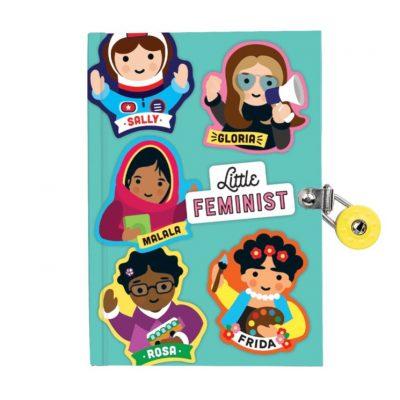 Little Feminist denník na zámok