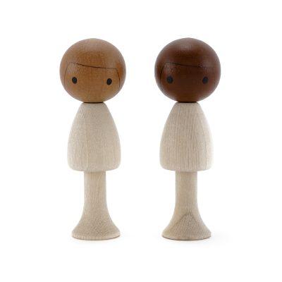 CLICQUES drevené figúrky
